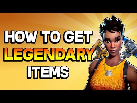 THE GOOD STUFF - How to get legendary weapons in Fortnite Save the World PVE