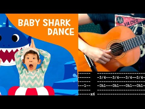 baby-shark-guitar-fingerstyle-cover