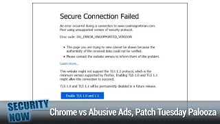 BlindSide & BLURtooth - Chrome vs Abusive Ads, Patch Tuesday Palooza