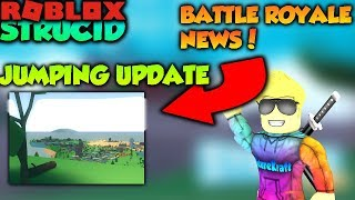 ROBLOX STRUCID BATTLE ROYALE INFO + NEW UPDATE (New Jumping Physics + New Code)