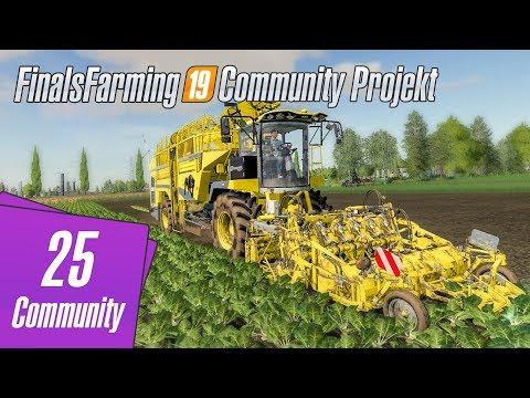 Community Projekt LS19 - Unfall mit dem großen Vollernter - #025