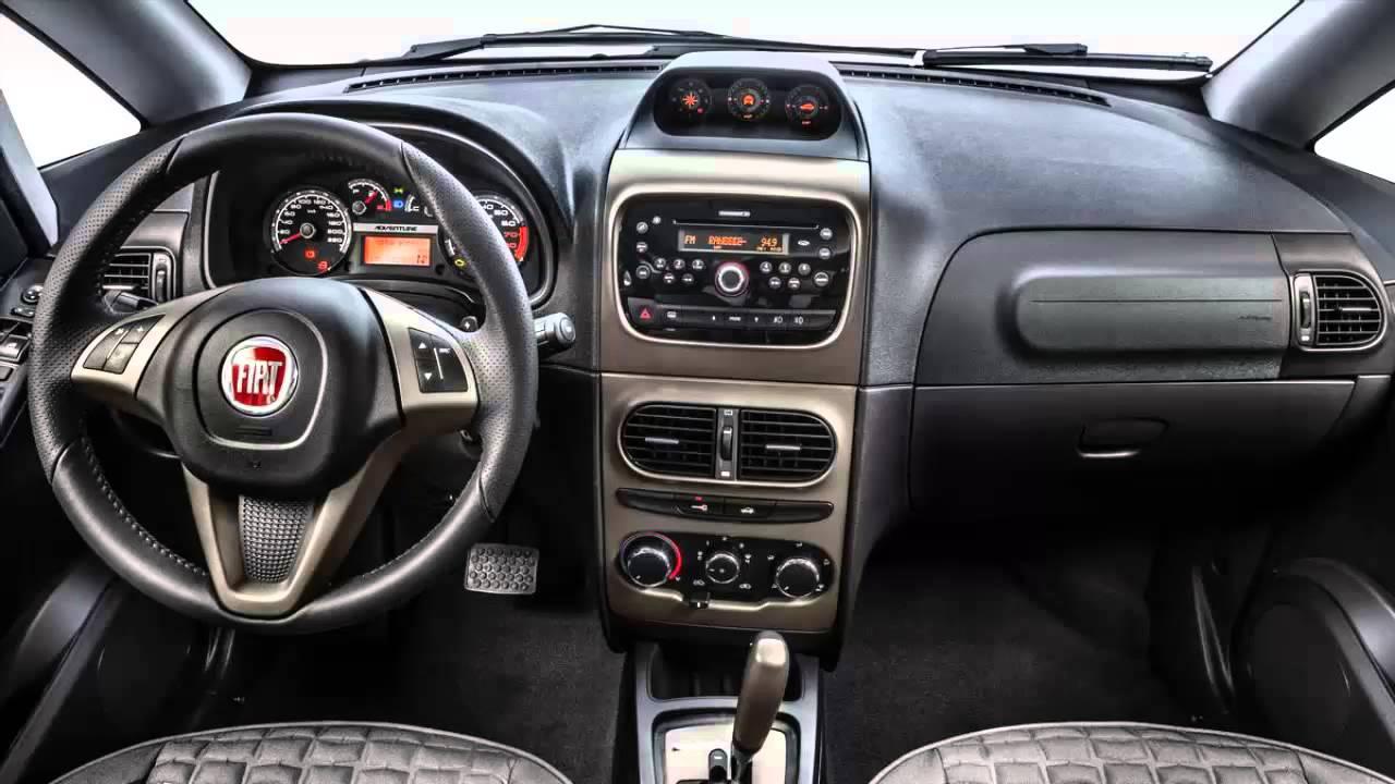 Car interior fiat idea 2014 youtube for Idea interior cierra