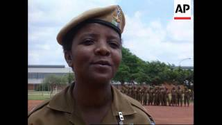 South Africa - Women Soldiers