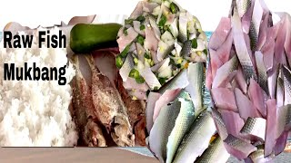 "Raw Gizard fish ""kilawing isda…"