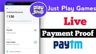 play ship app payment proof tamil | play games and earn money tamil | Fc Techno