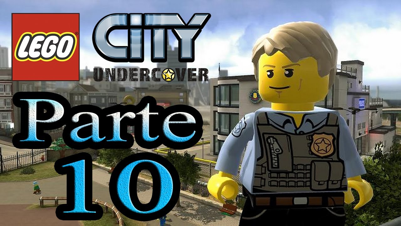 let's play : lego city undercover - parte 10 - youtube