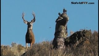 10 Yard Archery Mule Deer Hunt - Operator Error by Solvid FIY
