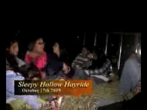 Sleepy Hollow Haunted Hayride  10-30-09 (clip reel)
