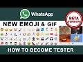 WhatsApp UPDATE New Emoji & GIF