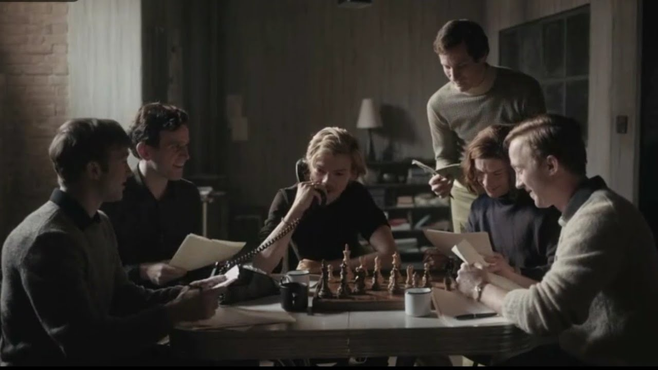 Download Queen's Gambit 1x7   The Last Advice From Benny and Harry -Scene   [HD]