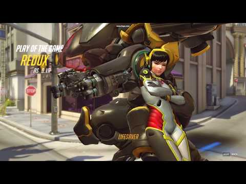 Overwatch   Dva   Play of the Game   Hollywood   Life Saver