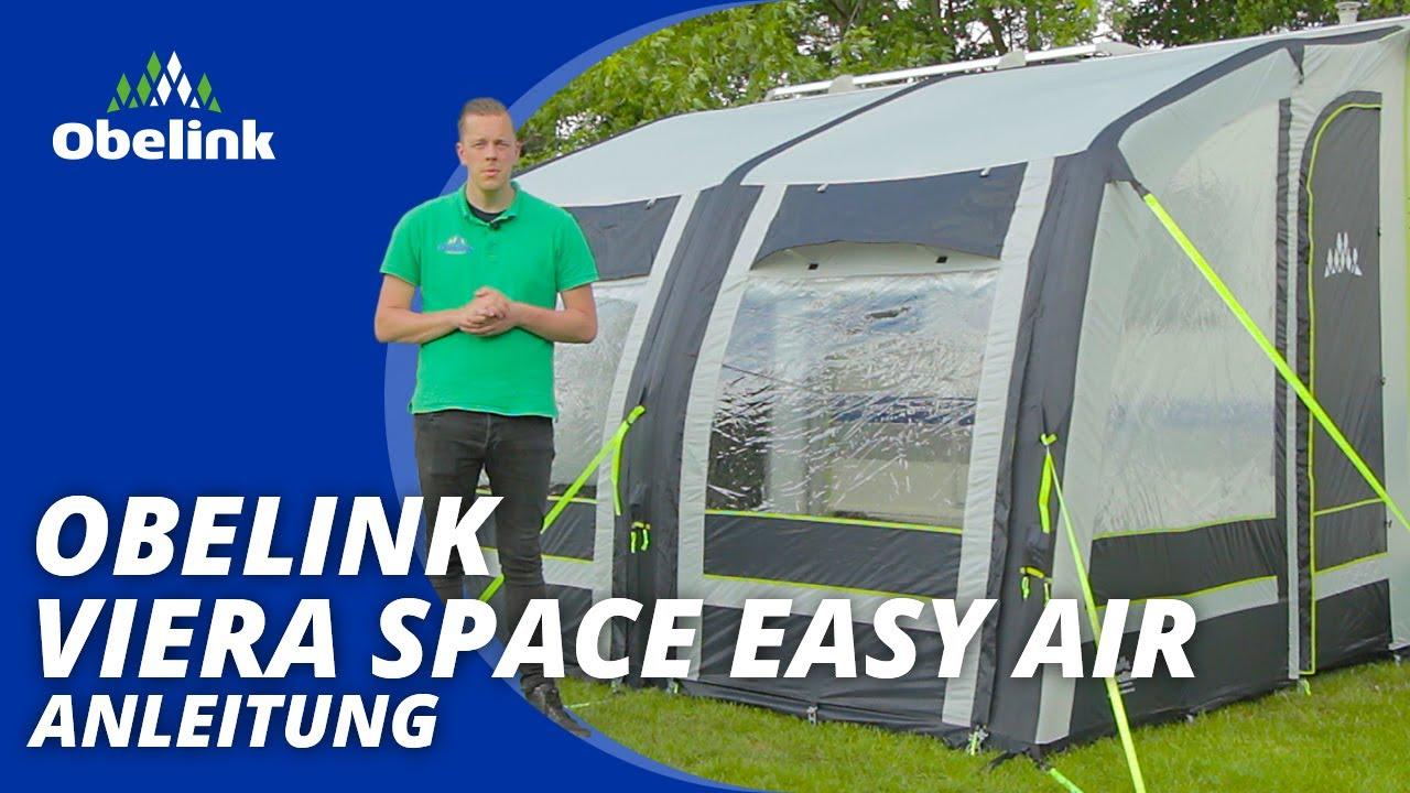 Obelink Viera Space Easy Air aufbauen  Anleitung  Obelink