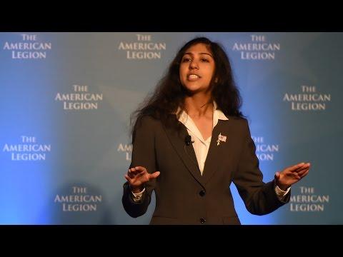 2015 Oratorical Contest Finals - Geeta Minocha - Assigned Topic Oration