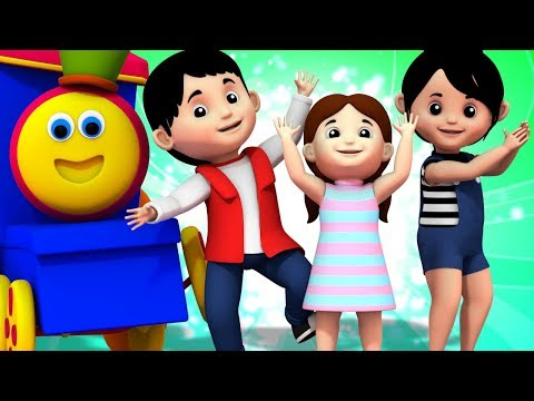If Your Happy And You Know It Clap Your Hands Song | Bob The Train Kids Tv