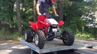 How To Install a Shock Strut On Tilt Trailer ATV Snowmobile