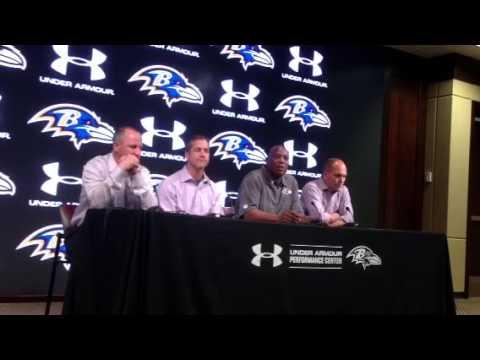 Ozzie Newsome on new Ravens D