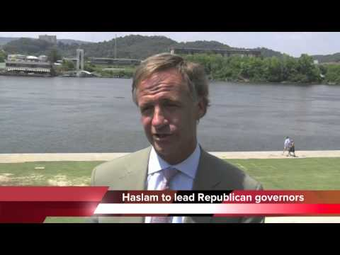 Republican Governors Association names Bill Haslam chairman