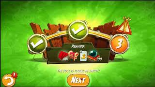Beat The Daily Challenge King Pig Panic Completed in Angry Birds 2 Monday 2