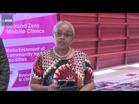 First Lady Margaret Kenyatta on official duty