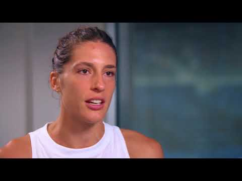 Holding Serve with Andrea Petkovic   2017 US Open