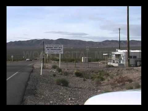 Area 51 - Indian Springs and the Nevada Test Site (NTS) (B-Roll)