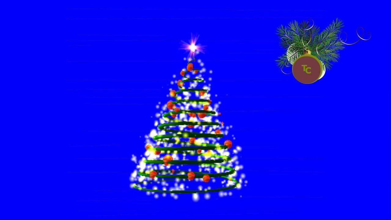 мир футаж новогодняя елка анимация удивительный летний