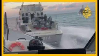 🇹🇷 ملاحقة في عرض البحر بين خفر السواحل التركي وزورق يوناني