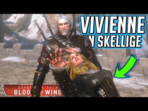 Witcher 3 [Rare Footage]: Vivienne in Skellige! Everywhere She Goes There. (Blood and Wine) thumbnail