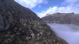 mountains nature aerial view beautiful landscape alps rocks reyn3i0