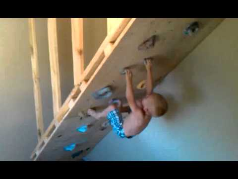 The best 3 year old rock climber