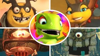 Yooka-Laylee and the Impossible Lair - All Bosses & Ending