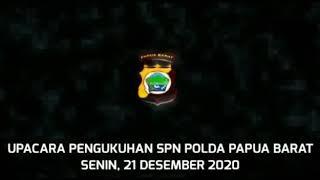 Peresmian SPN Polda Papua Barat