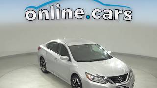G12302TR Used 2018 Nissan Altima Silver Sedan Test Drive, Review, For Sale