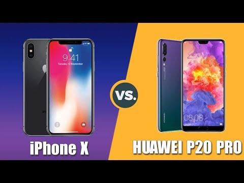 Speedtest iPhone X vs Huawei P20 Pro: Apple A11 Bionic vs Kirin 970
