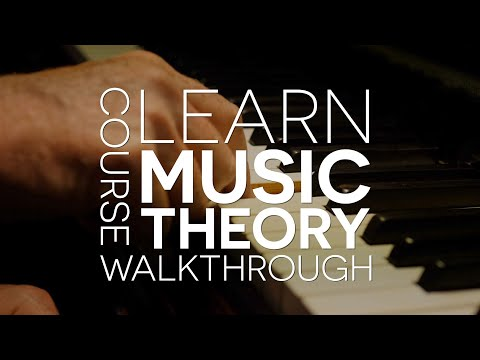 Learn Music Theory  – New Course Announcement and Walkthrough
