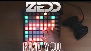 Zedd Find you Launchpad and PS3 controller play