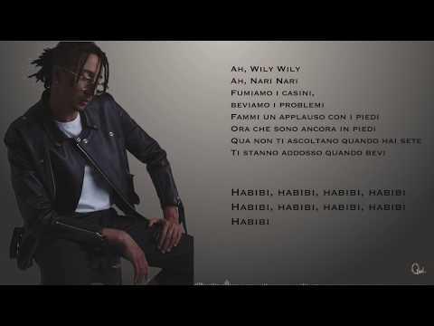 Ghali - Habibi (Instrumental + Testo)