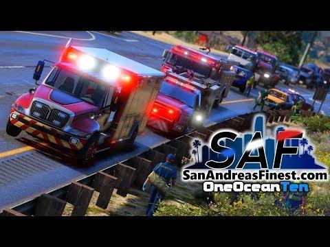 SA'F #121 - Double Homicide! | GTA V RP
