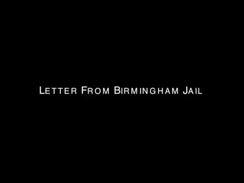 Letter From Birmingham Jail - Told Through Different Languages