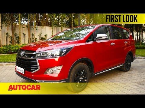 Toyota Innova Touring Sport | First Look | Autocar India