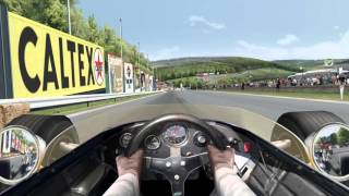 Grand Prix Legends F1 1967 Eagle T1G @ Spa 5 laps with AI