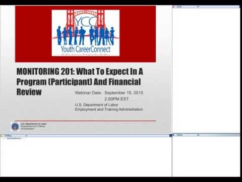 Monitoring 201: What to Expect In a Program (Participant) and Financial Review