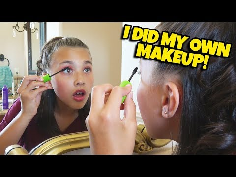 I DID MY OWN MAKEUP!!! James Charles Helps Me Get Ready for My Dance Recital! thumbnail