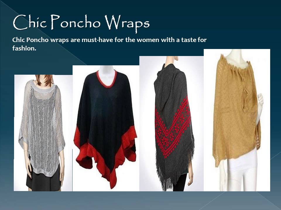 Wrap ruana how to wear