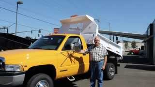 Town and Country Truck #5936: 1998 DODGE Ram 3500 2-3 Yard Dump Truck