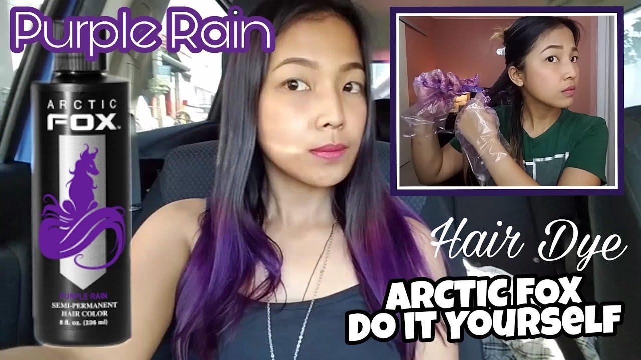 Diy hair dye arctic fox purple rain shopee youtube diy hair dye arctic fox purple rain shopee solutioingenieria Gallery