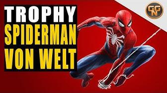 Marvel's Spiderman 4 PS4 Guide - Spiderman von Welt - Spiderman about Town Trophy / Trophäe