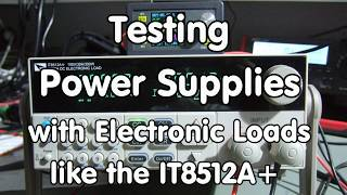 Gambar cover #146 Testing Power Supplies with cheap to expensive Electronic Loads, Tips and tricks