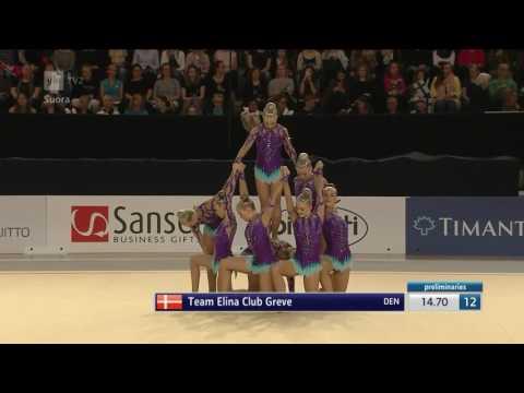 Team Elina DEN Final - AGG World Championships 2017 Helsinki