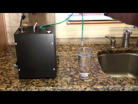 Hydrogen for health charged water machine.